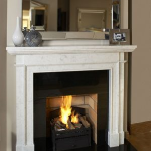 Harvard marble fireplace, made to measure fireplace, marble fireplace, custom made fireplace, solid fuel fireplace, gas fireplace, electric fireplace, roma beige marble fireplace, bianco carrera marble fireplace