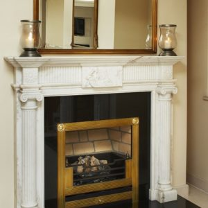 helena marble fireplace, solid fuel fireplace, woodburner fireplace, electric fireplace, gas fireplace, custom made fireplace, made to measure fireplace, timeless fireplace, greek style fireplace, athenian fireplace