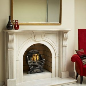 arched victorian corbel marble fireplace, Turkish limestone fireplace, solid fuel fireplace, woodburner fireplace, electric fireplace, gas fireplace, custom made fireplace, made to measure fireplace, timeless fireplace, victorian fireplace