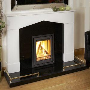 vero insert stove, wanders stove, small landscape insert fire, efficient woodburner, external air supply insert stove, minimalist stove, glass fronted stove, minimalist stove, portrait stove
