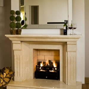londres marble fireplace, made to measure fireplace, marble fireplace, custom made fireplace, solid fuel fireplace, gas fireplace, electric fireplace, roma beige marble fireplace, crema marfil marble fireplace, elegant fireplace