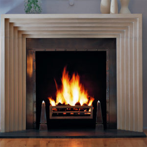odeon fireplace, solid fuel fireplace, woodburner fireplace, electric fireplace, gas fireplace, custom made fireplace, made to measure fireplace, timeless fireplace, clean architectural fireplace, limestone fireplace, marble fireplace, travertine stone fireplace, art deco fireplace, geometrical fireplace, modern fireplace