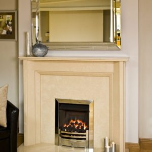 sienna marble fireplace, made to measure fireplace, marble fireplace, custom made fireplace, solid fuel fireplace, gas fireplace, electric fireplace, roma c marble fireplace, crema marfil marble fireplace, angular fireplace