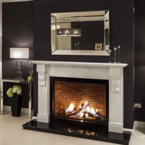 luca bianco carrera marble fireplace, travertine stone fireplace, Turkish limestone fireplace, solid fuel fireplace, woodburner fireplace, electric fireplace, gas fireplace, custom made fireplace, made to measure fireplace, timeless fireplace, elegant fireplace, portuguese limestone fireplace