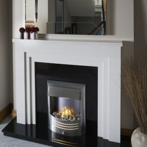 gemma marble fireplace, made to measure fireplace, marble fireplace, custom made fireplace, solid fuel fireplace, gas fireplace, electric fireplace, roma beige marble fireplace, roma white marble fireplace