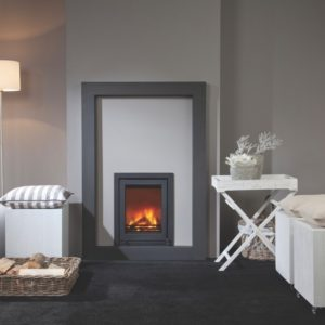 marvic insert stove, wanders stove, small landscape insert fire, efficient woodburner, external air supply insert stove, minimalist stove, glass fronted stove, portrait stove, minimalist stove