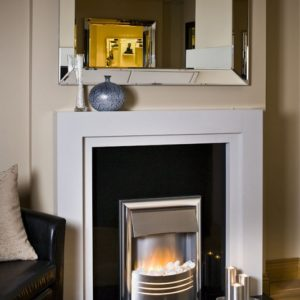phil marble fireplace, made to measure fireplace, marble fireplace, custom made fireplace, solid fuel fireplace, gas fireplace, electric fireplace, roma white marble fireplace, simple design fireplace